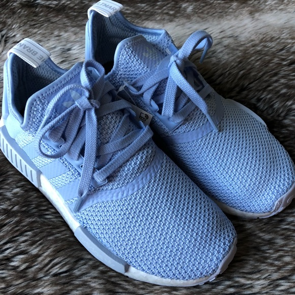 detailed look 4b2ca 9c7f2 Adidas NMD R1 Women's Shoes Blue NWT